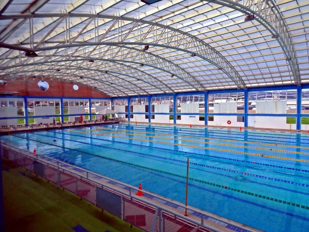 Las medidas de una piscina olimpica newbranch for Piscina 50 metros sevilla